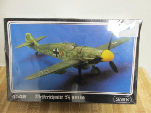 Starfix Wiefferfchmitt BF 109 Airplane 1:48 scale model