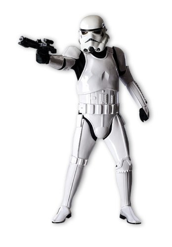 "Star Wars Stormtrooper Supreme Edition Costume ""XL"""