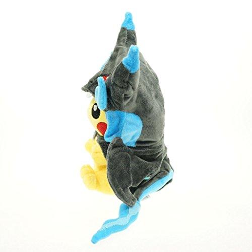 Pokemon-Center-8-Mega-Smile-Pikachu-With-Charizard-Hat-Plush-Soft-Toy-Doll