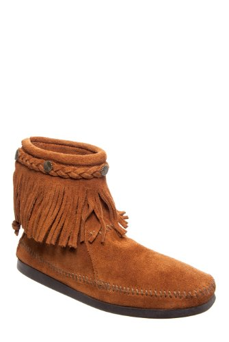 Minnetonka Fringed Ankle Boot