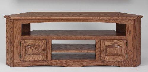 Cheap #899 Solid Wood TV Stand Country Oak Plasma LCD Corner TV Stand (B003IRI0G8)