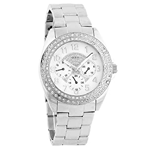 New GUESS WOMEN'S Shimmer Swarovski watch G11040L