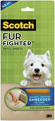 Pet Hair Remover: 3M Scotch Fur Fighter 849RF-8 Hair Remover
