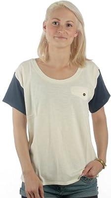 Wemoto Kim Shirt S/S 22218204 whisper white dark navy