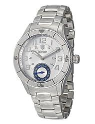 Victorinox Swiss Army Men's 241190 Ambassador Silver Dial Watch