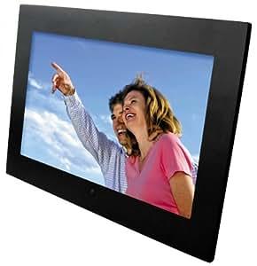 Braun DigiFrame 1560 Digitaler Bilderrahmen (38cm Display, 1 GB interner Speicher, SD-Kartenslot, USB 2.0) schwarz