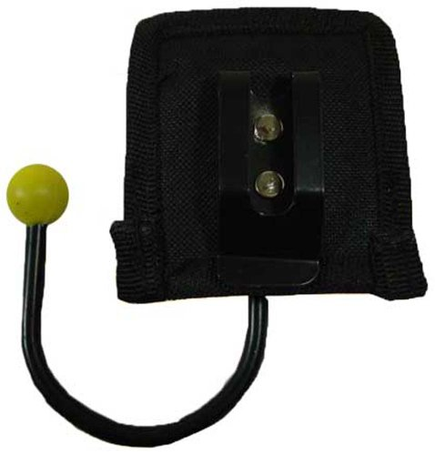 """3"""" X 3"""" Hook Style Holder For Tape Roll To Wear On Belt"""