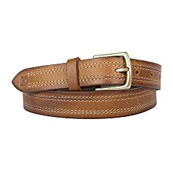 Leder Concept's Tanish Brown Women's Genuine Leather Belt (BW007_32, Brown, 32)