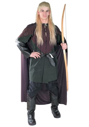 Rubies Mens Movie Characters Lord Of The Rings Hobbit Legolas Fancy Costume