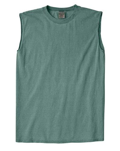 Chouinard Adult Heavyweight Pre-Shrunk Shooter T-Shirt, Light Green, Small