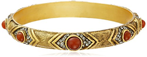1928 T.R.U. Jewelry Antique Gold-Tone Carnelian Cr…