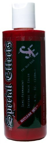 Special Effects Semi-Permanent Hair Dye - Nuclear Red (Nuclear Red Special Effects compare prices)