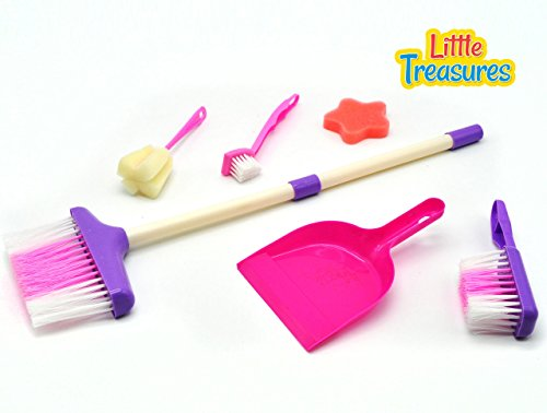Mothers-Little-helper-cleaning-play-set-from-Little-Treasures-Complete-with-broom-toilet-brush-scrubber-foam-pad-hand-broom-and-dust-pan-play-set-for-children-3
