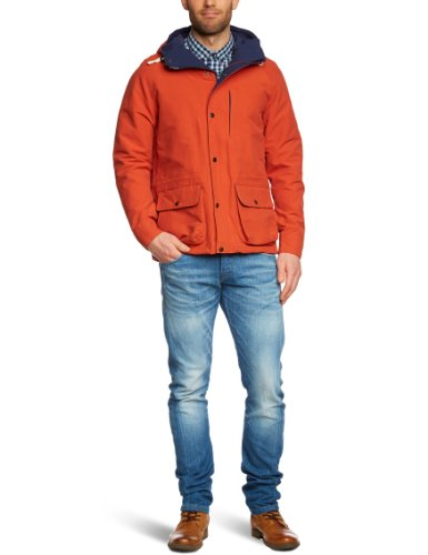 Selected Homme Brighton C Men's Jacket Orange Large