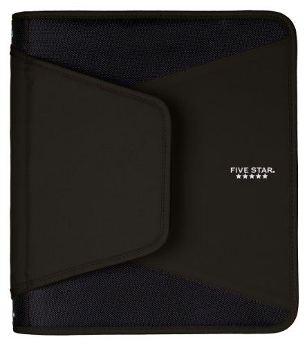 five-star-15-zipper-binder-1275-x-1125-x-1-inches-black-72204