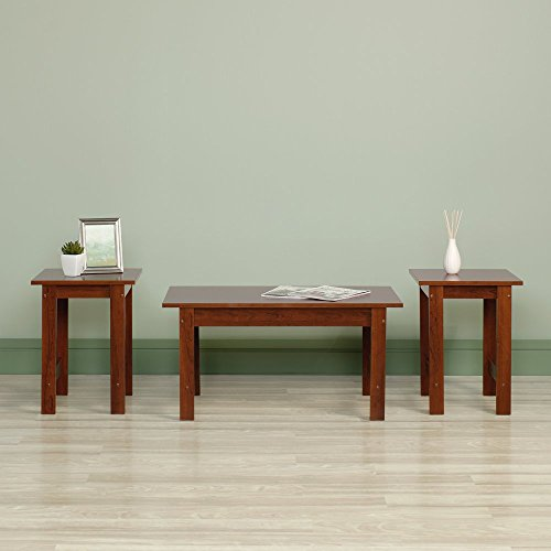 Sauder Beginnings 3 Piece Coffee Table Set (Wood Coffee Table Set Of 3 compare prices)
