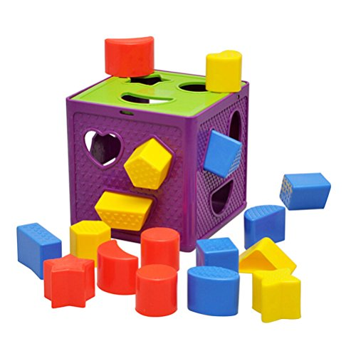 YIXIN-Plastic-Geometric-Square-Shape-Sorter-Cube-Baby-First-Blocks-Shape-Sorting-Toy-for-Early-Learning-for-3-Year-Old