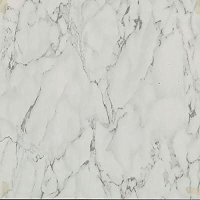 "45 Self Adhesive White MARBLE 12"" X 12"" Vinyl Flooring Tiles"