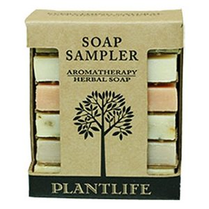 Cheapest Aromatherapy Herbal Soap Sampler (Made with 100% Pure Essentail Oils) by Plantlife - Free Shipping Available