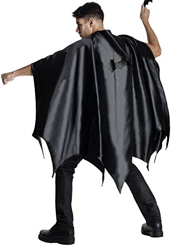 Rubie's Costume Co Men's DC Superheroes Deluxe Batman Cape