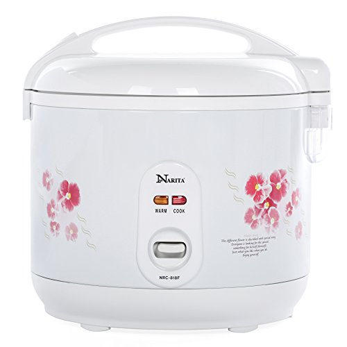 Narita Deluxe 10-Cup Uncooked (2-20 cup cooked) Rice Cooker (Taiwan Rice Cooker compare prices)