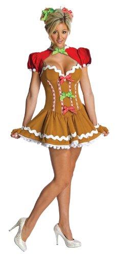Secret Wishes Ginger Sassy Costume, Multicolor, Small
