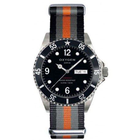 Oxygen reloj hombre Diver 40 mm Moby Dick EX-D-MOB-40-NN-BLGROR