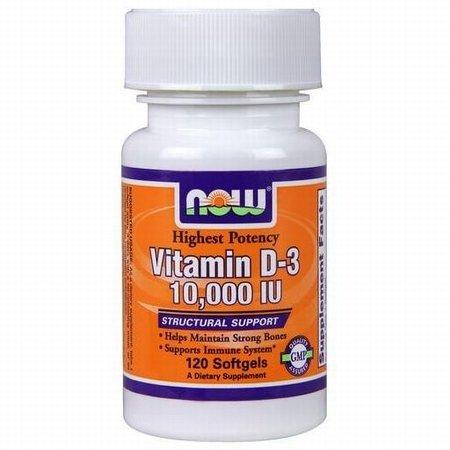 Vitamin D-3 - 10,000 Iu - 120 Softgels