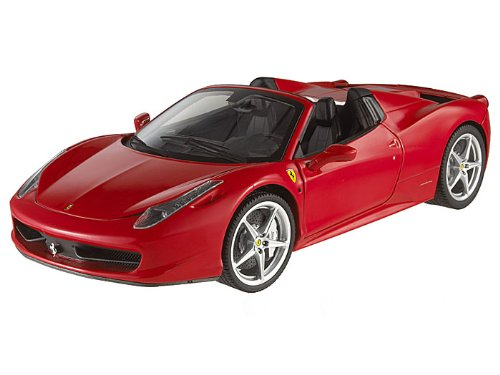 Ferrari 458 Italia Spider Red Elite Edition 1/18 by Hotwheels w1177 (Ferrari 458 Italia Model compare prices)