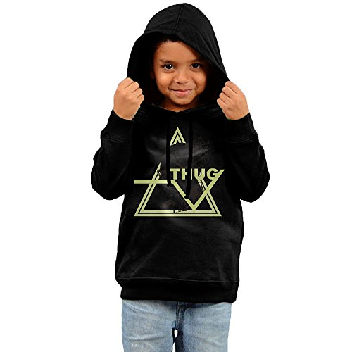 Young Thug Icons Stylish Cotton Hoodie For Toddler Kid