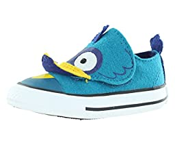 Converse Baby Boys\' Chuck Taylor All Star Creatures (Inf/Tod) - Blue - 4 Infant