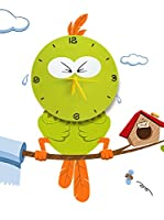 LO+DEMODA Vinilo Decorativo Angry Green Bird
