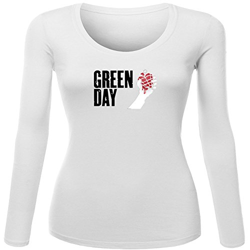 Pop Green Day For Ladies Womens Long Sleeves Outlet
