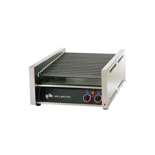Star Manufacturing 45SCE Star Grill-Max Pro Hot Dog Grill w/Duratec Rollers