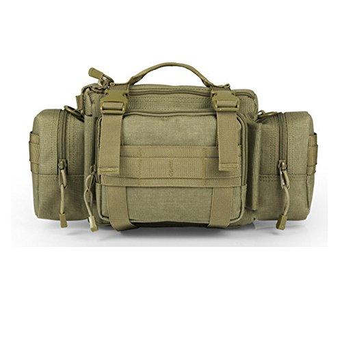 YAAGLE Outdoor Hüfttasche 3P Nylon Schultertasche Kuriertasche Umhängetasche Freizeit Reisetasche Sporttasche-gelb