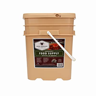 Wise Foods Entrée Only Grab&Go Bucket 120 Serving