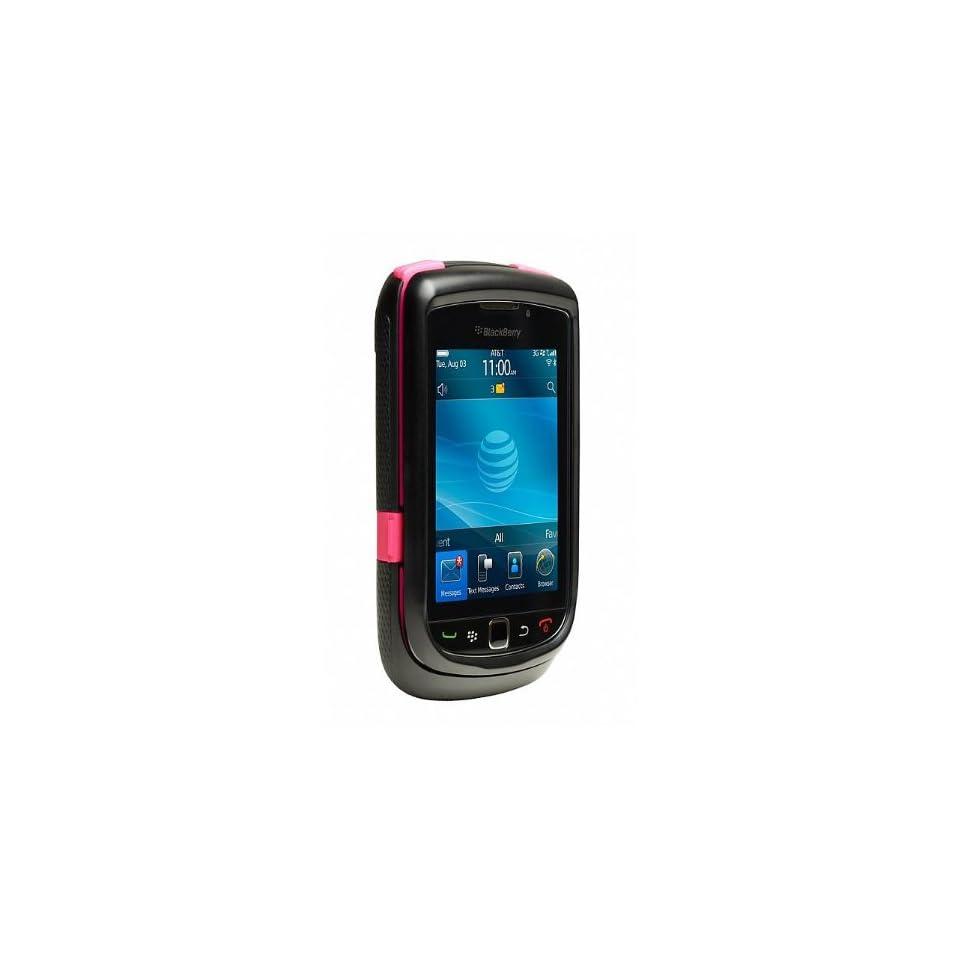 Otterbox New Oem Commuter Pink Black Case Blackberry 9800 Torch