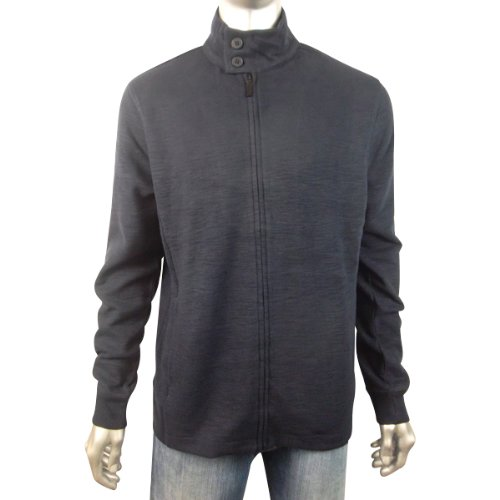 New Mens Ben Sherman Full Zip Cardigan Jumper Mod Retro Sweater 2XL