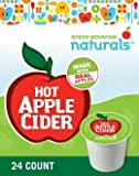Green Mountain Naturals ~ HOT APPLE CIDER ~ 24 K-Cups for Keurig Brewers