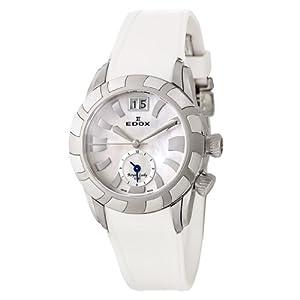Edox Royal Lady GMT Women's Quartz Watch 62005-3-NAIN