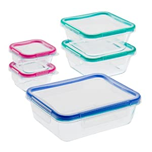 Total Solution™ 10-Pc Pyrex® Glass Food Storage Set w/ Snapware® Lids