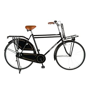 Hollandia Opa 28 Citi Bicycle (Black, 28-Inch)
