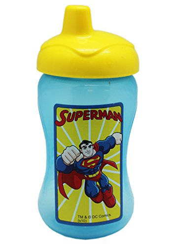 DC Comics Superman 10oz Blue Colored Sippy Cup