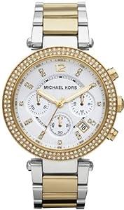 Michael Kors Women's MK5626 Parker Gold/Silver Watch