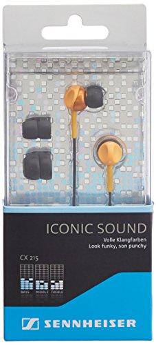 Sennheiser Cx 215 Earphones - Orange