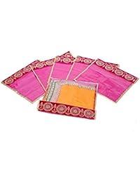 Kuber Industries Single Packing Bandhani Saree Cover Set Of 6 Pcs - B01H97XLZ2