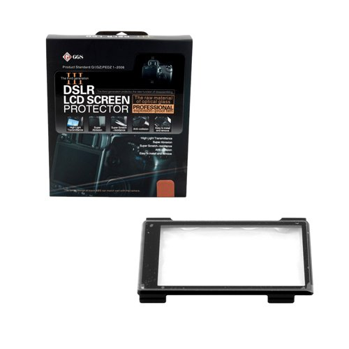 Ggs Iii Generation Dslr Lcd Screen Protector For Sony Nex-5 Nex-3- Black