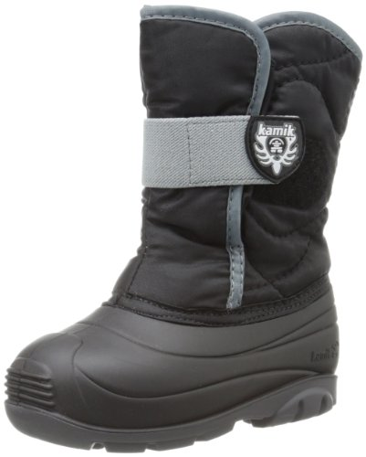 Kamik Footwear Snowbug3 Insulated Boot (Toddler),Black,8 M US Toddler
