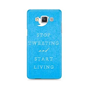 Mobicture Twitter Premium Printed Case For Samsung A7