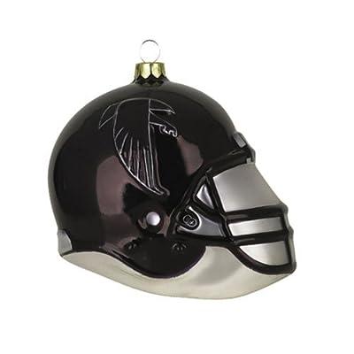 Scottish Christmas Atlanta Falcons 3 in. Glass Blown Helmet Ornament - Atlanta Falcons One Size